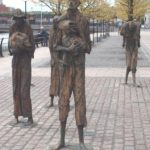 Famine Memorial. Custom House Quay