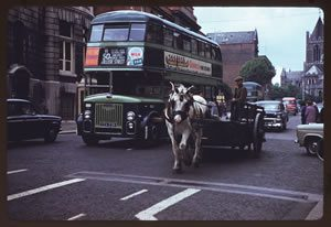 green-bus-and-horse-and-cart-300